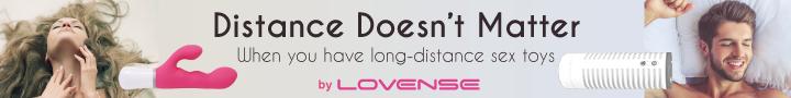 Distance Doesnt Matter. When you have long-distance sex toys by Lovense. Lovense consoladores a distancia, webcam models, para ella, para él. Enlace externo (se abre en una nueva ventana)
