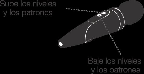 Instrucción de botones de Domi by Lovense.