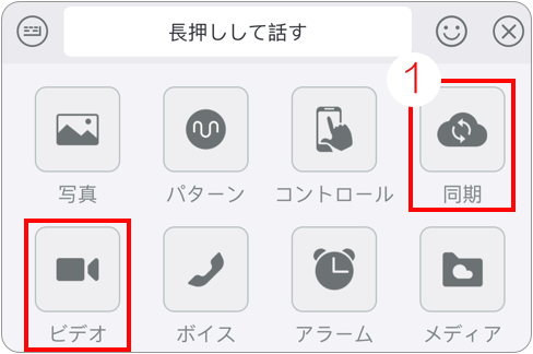 遠距離セックスはSync Together もしくはVideo Chat ボタンを通して提供されています。