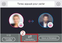 Vous pouvez choisir de synchroniser les deux jouets via l'option Télécommande sur l'application Lovense Remote.