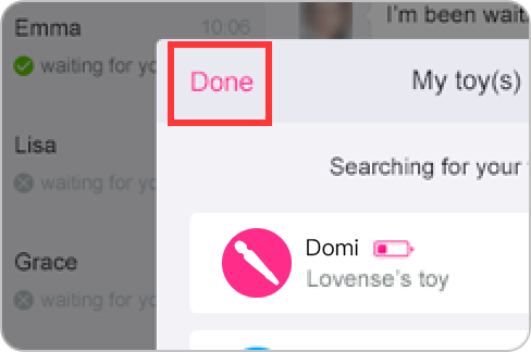 How to pair Domi with the Lovense Remote app on Windows PC.