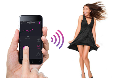 The Lovense Remote app allows you to control it from a short distance.