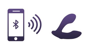 Edge peut être contrôlé à courte distance en le synchronisant avec votre smartphone.