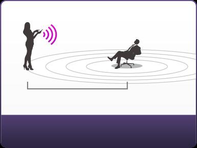 Edge le masseur de prostate Bluetooth pouvant fonctionner jusqu'à 3 mètres en étant assis.
