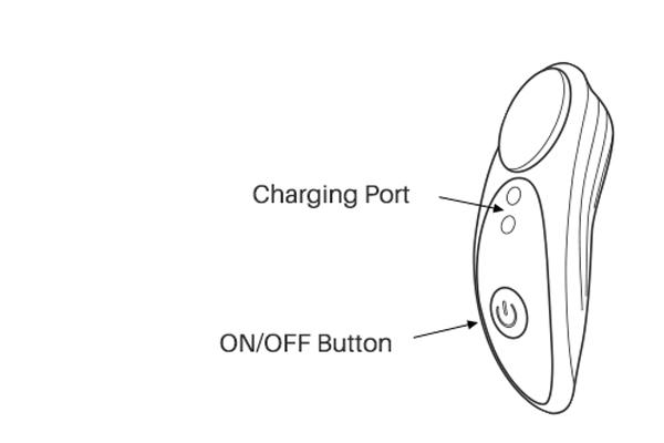 Osci by Lovense button instructions.
