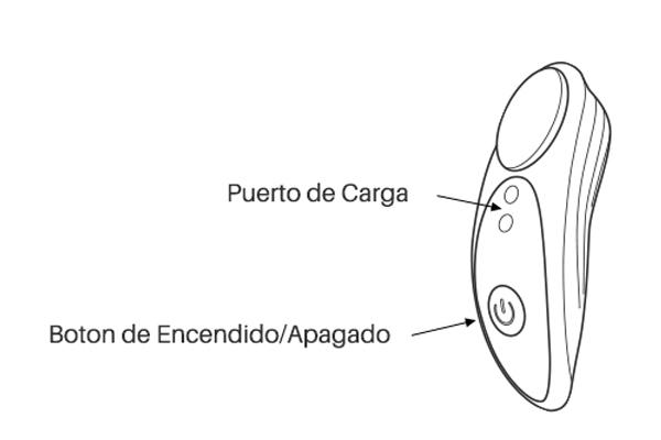 Instrucción de botones de Osci by Lovense.