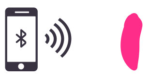 Osci can be used for close range-control by syncing it with your phone.
