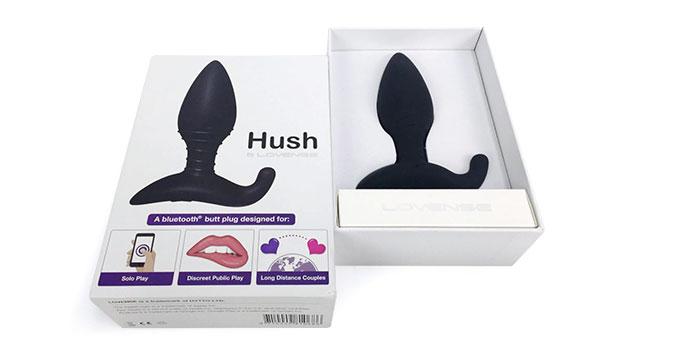 Lovenseのハッシュのパッケージ