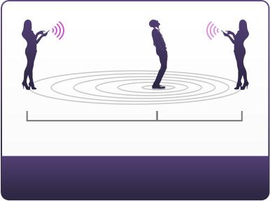 El plug vibrante Hush trabaja hasta 30 pies de distancia.