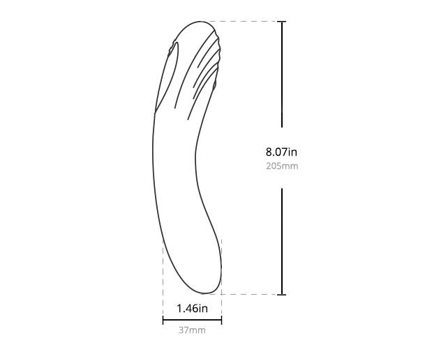 LovenseのOsciのサイズ