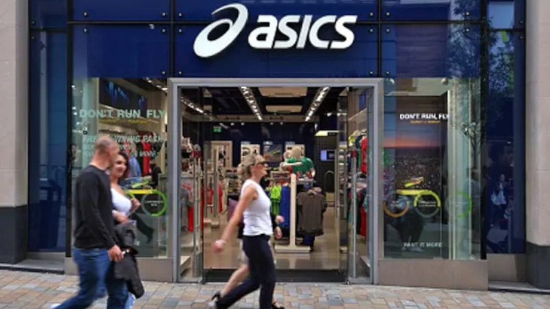 Asics store front